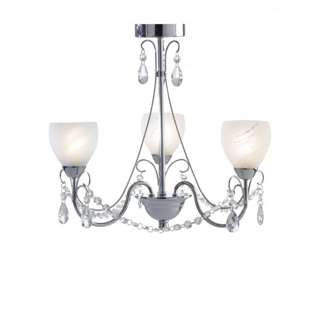Crawford Traditional Bathroom Chandelier Ceiling Light Ip44 Throughout Well Known Chandelier Bathroom Ceiling Lights (View 4 of 10)