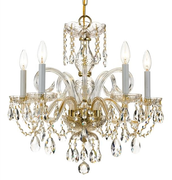 Best 10 Of Crystal And Brass Chandelier