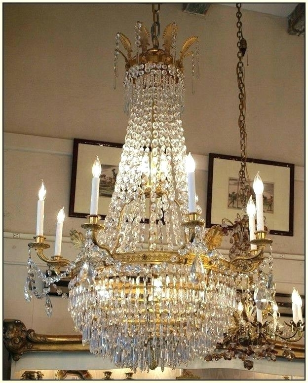 Crystal Chandeliers Ebay And French Crystal Chandeliers Ebay Uk 217 Throughout Trendy French Crystal Chandeliers (View 3 of 10)