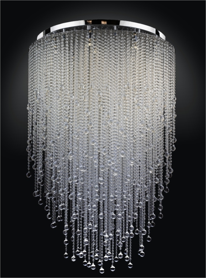 Current A Small Version Of This With Strung Beads And Or Christals For My Regarding Large Chandeliers (View 2 of 10)