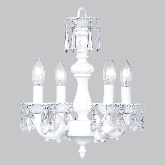 Current Chandelier White With Small White Chandeliers (View 3 of 10)