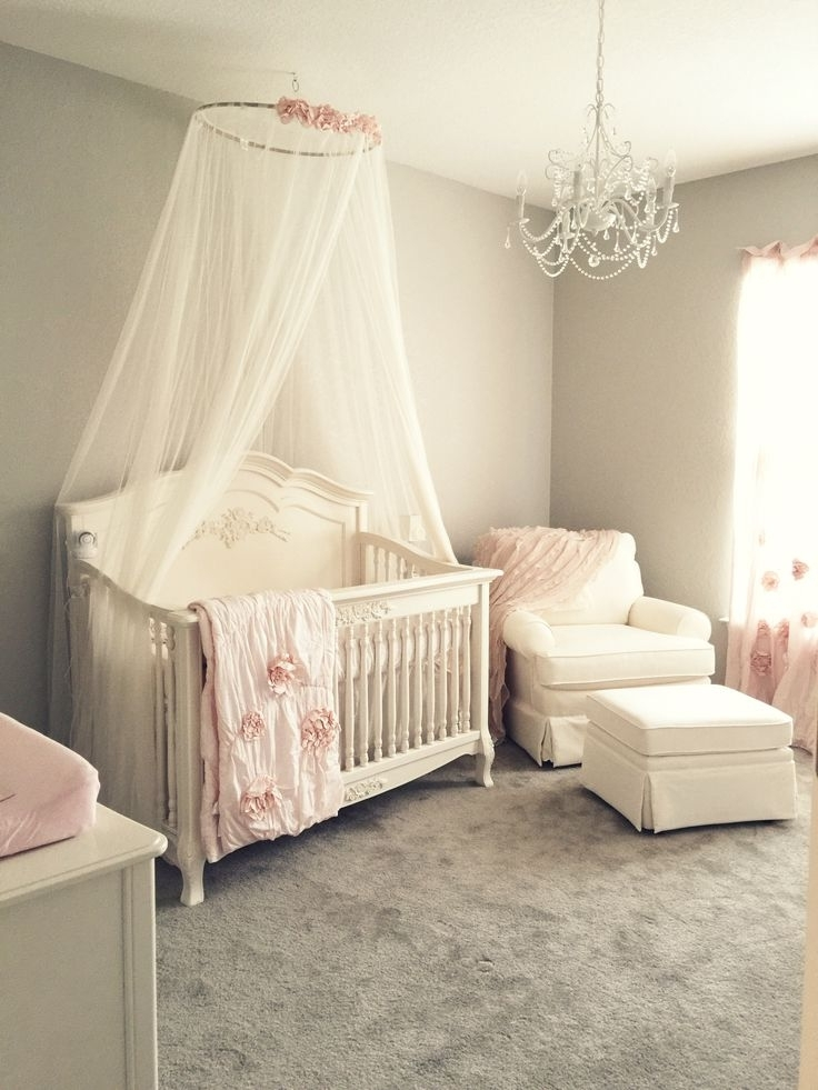 Current Chandeliers For Girl Nursery Within Home Design : Cool Baby Girl Chandeliers Nursery Room Ideas Simple (View 7 of 10)