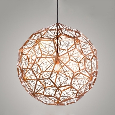 Current Fashion Style Copper, Pendant Chandeliers Modern Lighting Throughout Copper Chandelier (View 6 of 10)