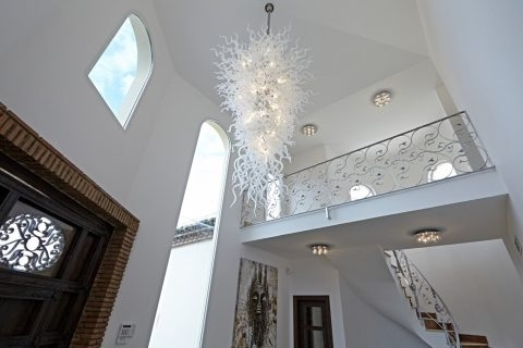 Current Large Modern Chandeliers With Regard To Lighting ~ Chandeliers Design : Awesome Extra Large Modern (View 7 of 10)