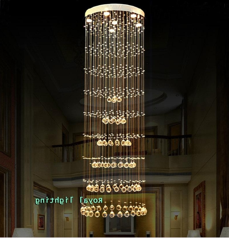 Current Long Hanging Chandeliers In H (View 3 of 10)