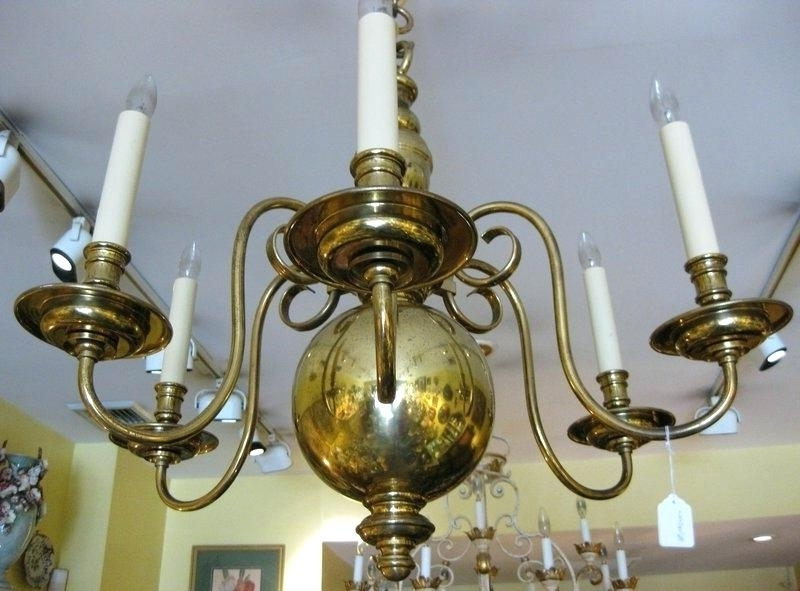 Current Old Brass Chandeliers Throughout Black And Brass Chandelier Play On A Fixture This Design Comes In A (View 3 of 10)