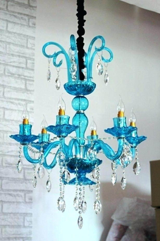 Current Turquoise Chandeliers Lighting – Stephenphilms (View 3 of 10)