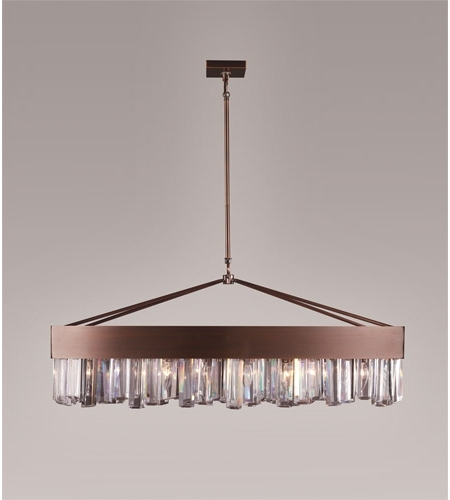 Current Zeev Lighting Cuspis 8 Light Chandelier In Brushed Copper Cd10079/8/acp With Copper Chandelier (View 7 of 10)