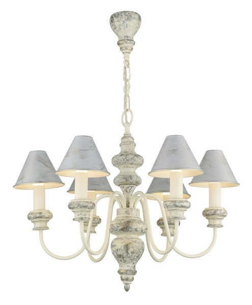 David Hunt Lighting Ver0612/ag11 Verona 6 Light Cream Chandelier With Regard To Well Known Cream Chandelier Lights (View 5 of 10)