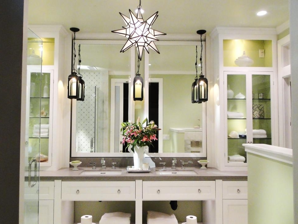 Diy For Chandelier Bathroom Lighting Fixtures (Gallery 7 of 10)