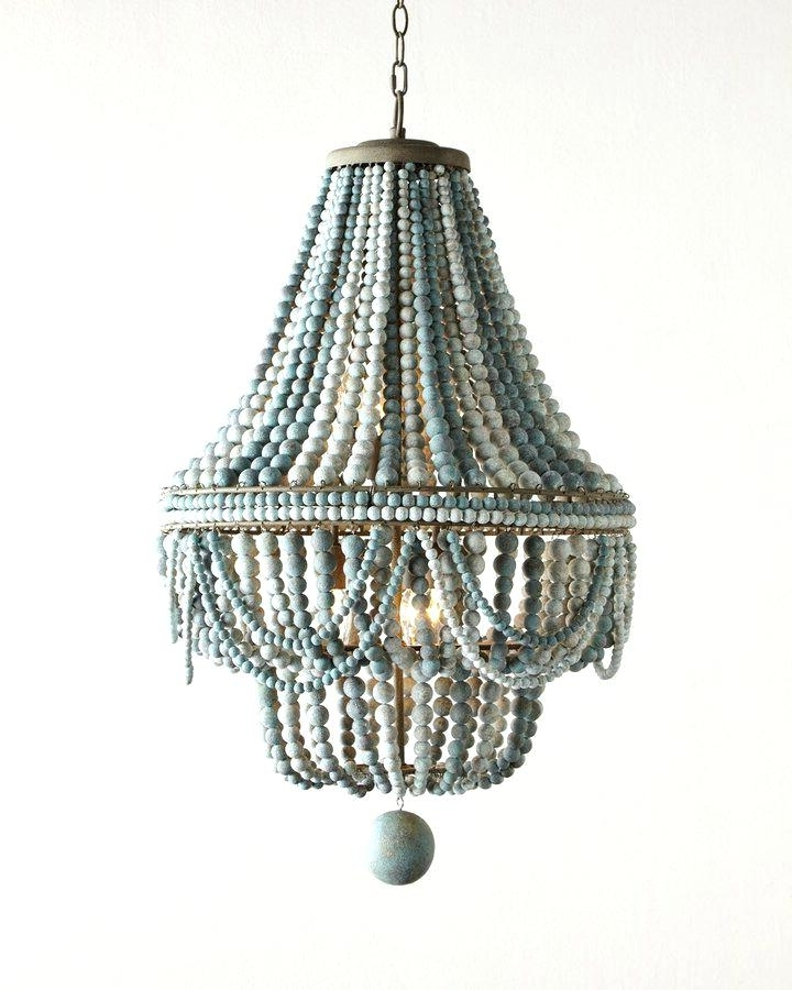 Diy Turquoise Beaded Chandeliers For Recent Beaded Turquoise Chandelier The Best Beaded Chandelier Ideas On Bead (Gallery 7 of 10)