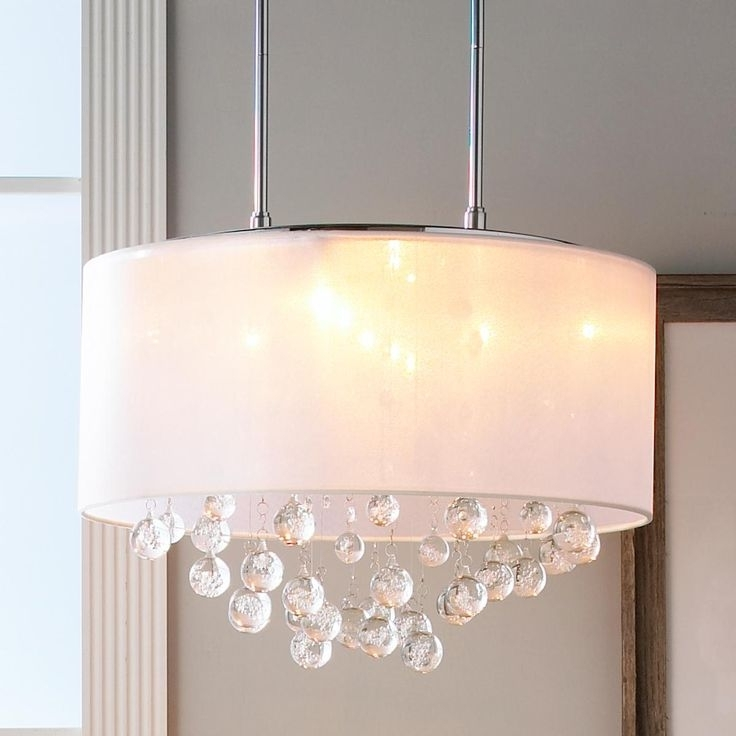 Drum Lamp Shades For Chandeliers Intended For Widely Used 28 Best Shade Chandeliers Images On Pinterest (Gallery 3 of 10)