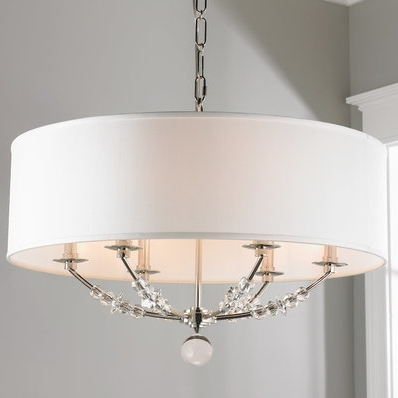 Drum Lamp Shades For Chandeliers Within Popular Drum Lamp Shades For Chandeliers Shade Of Light 4 Best 25 Chandelier (Gallery 1 of 10)