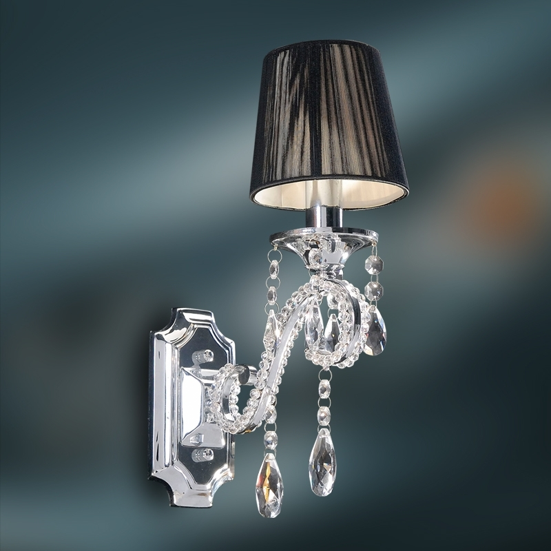 Ebay With Regard To Crystal Wall Sconce (View 7 of 10)