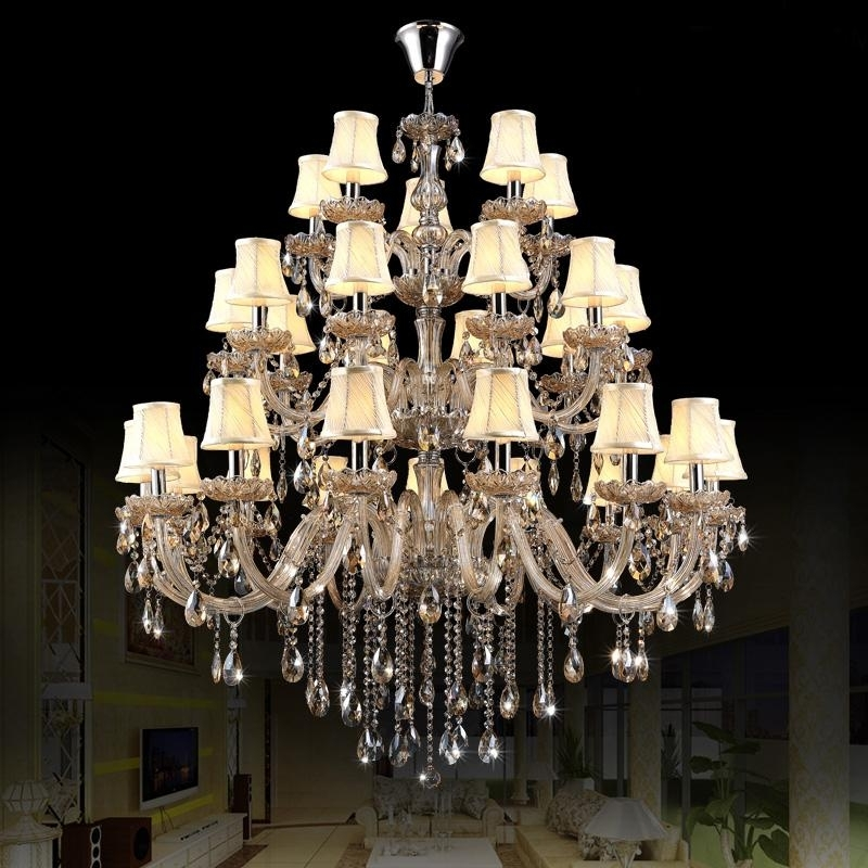 Egyptian Chandelier With Regard To Well Liked Crystal And Chrome Chandelier Hotel Lobby Egyptian Crystal (View 8 of 10)