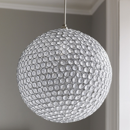 Elegant Crystal Globe Chandelier For Design Home Interior Ideas Throughout Latest Crystal Globe Chandelier (View 5 of 10)