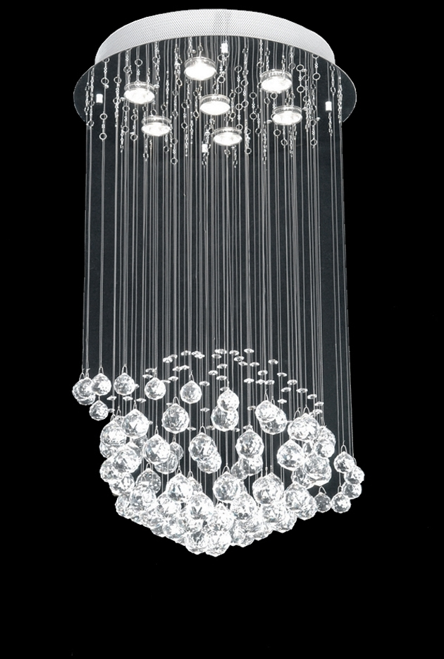 Elliott Spour House Inside Best And Newest Contemporary Modern Chandelier (Gallery 6 of 10)