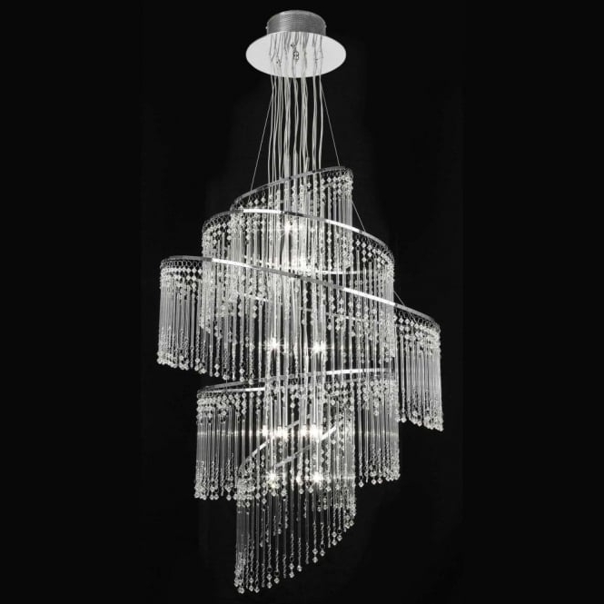 Endon 24 Light Chrome Pendant (Gallery 2 of 10)