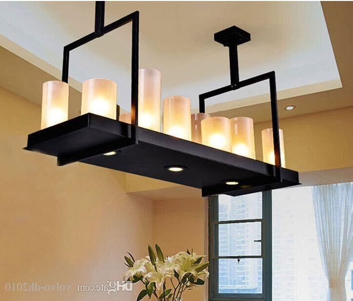 Evin Reilly Altar Modern Pendant Lamp Remote Control Chandelier Pertaining To Most Popular Modern Wrought Iron Chandeliers (View 3 of 10)