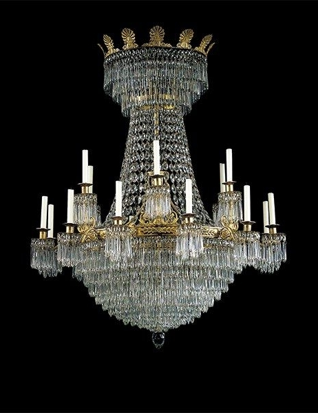 Expensive Chandeliers Intended For 2017 The Most Expensive Antique Chandeliers Sold At Auction (Gallery 5 of 10)