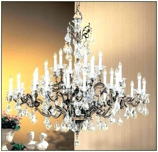 Extra Large Chandeliers Intended For 2018 Chandeliers Large And Extra Large Chandelier Earrings Large Crystal (Gallery 9 of 10)