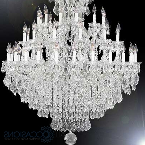 Extra Large Crystal Chandeliers Throughout Favorite Home Design : Trendy Extra Large Crystal Chandeliers Home Design (View 5 of 10)