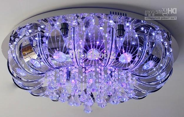 Extraordinary Remote Control Chandeliers At Color Changing Led Inside Preferred Remote Controlled Chandelier (Gallery 2 of 10)