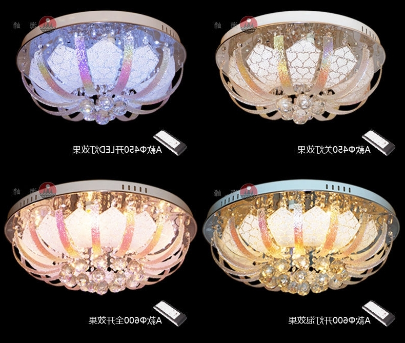 Extraordinary Remote Control Chandeliers At Color Changing Led Pertaining To Most Current Remote Controlled Chandelier (View 4 of 10)