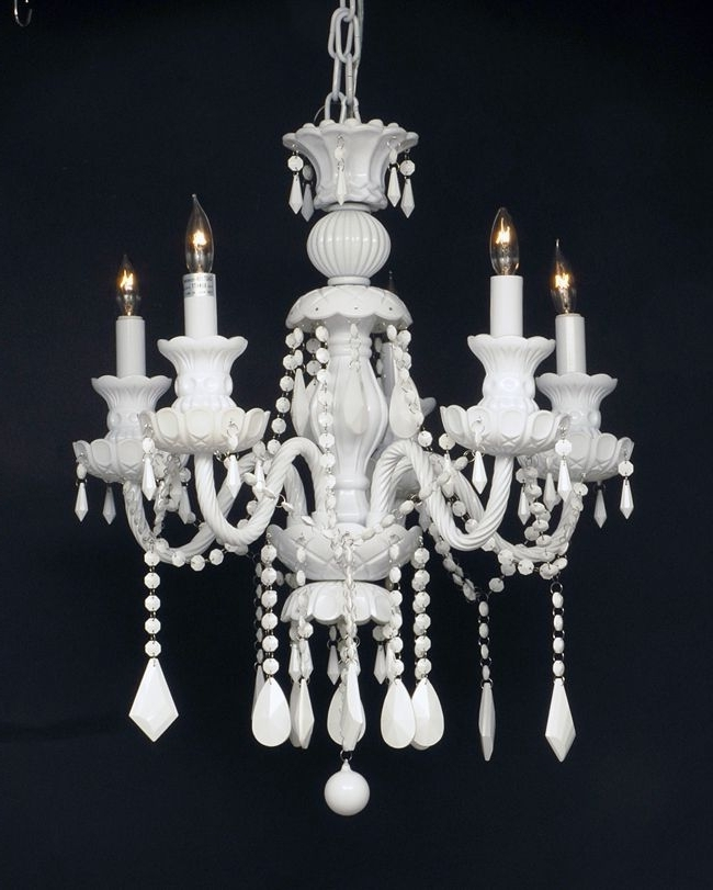 Featured Photo of White And Crystal Chandeliers