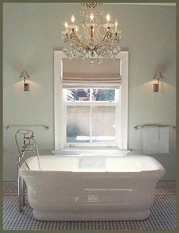 Famous Bathroom Chandelier Lighting In Chandelier Bathroom Lighting – Sl Interior Design (View 4 of 10)