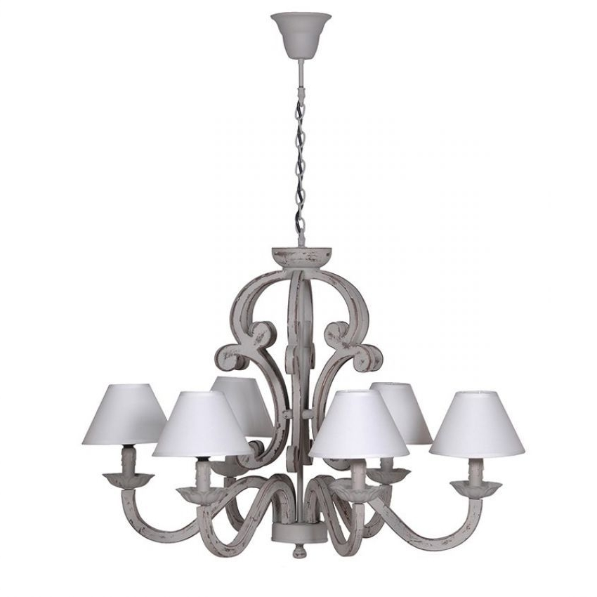 Famous Grey Chandeliers For Chandeliers (View 2 of 10)