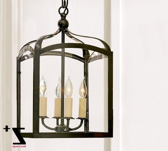 Famous Indoor Lantern Chandelier In Replica Item Led Pendant Light Iron Gothic Indoor Outdoor Lantern (View 1 of 10)