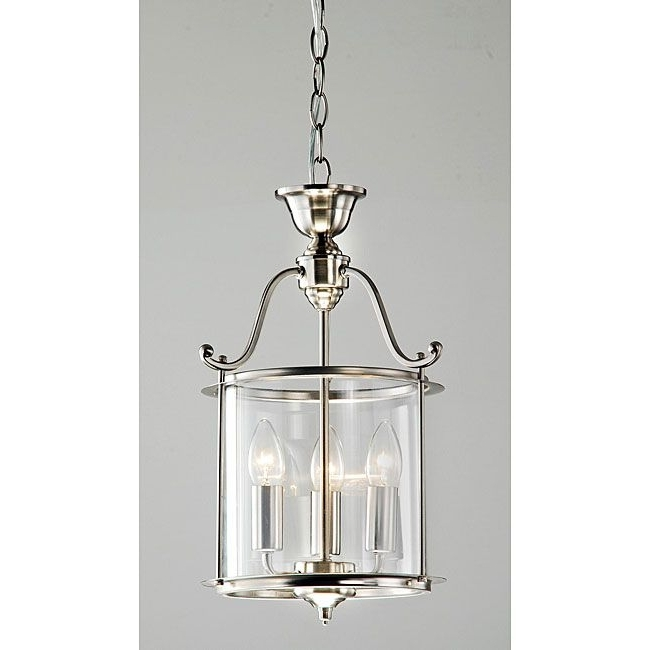 Famous Indoor Lantern Chandelier Within The Elegant Lines Of This Beautiful Nickel Chandelier Will Attract (View 2 of 10)