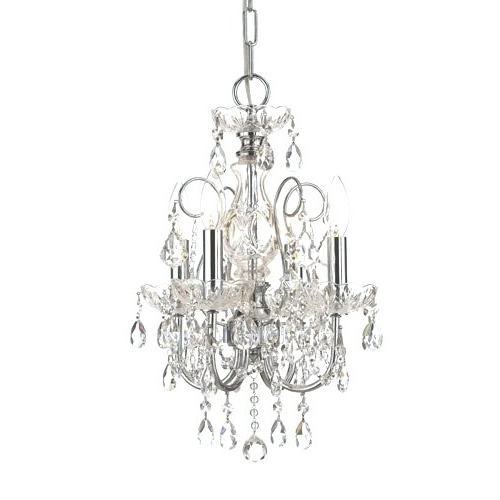 Famous Small Chrome Chandelier Within Chandeliers ~ Small Chrome Chandelier Small Chrome Crystal (View 10 of 10)