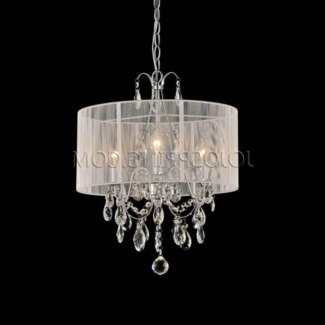 Famous White And Crystal Chandeliers Regarding Best White Chandelier For Bedroom 17 Ideas About Awesome House (View 5 of 10)