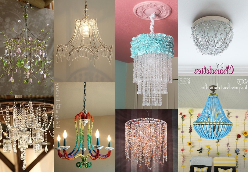 Featured Photo of Diy Turquoise Beaded Chandeliers
