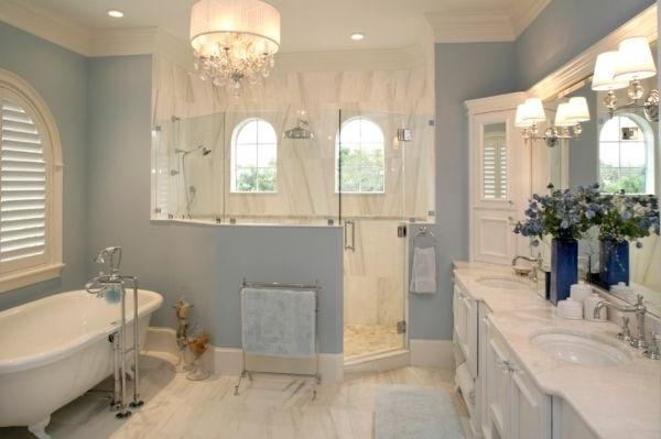 Fashionable Mini Bathroom Chandeliers Throughout Decorating Your House With Small Chandeliers For Bathrooms De (View 5 of 10)