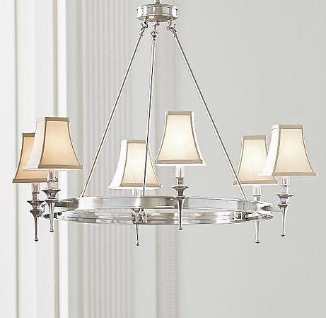 Fashionable Silver Chandeliers Regarding Antique Silver Chandelier (View 4 of 10)
