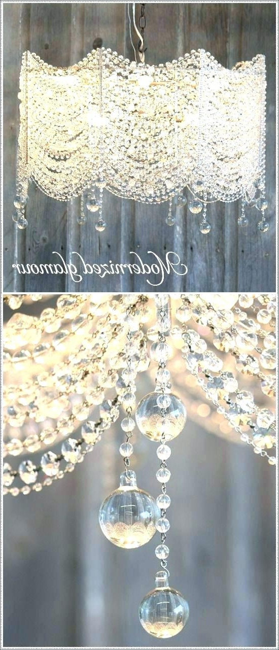Faux Crystal Chandelier Ceilg Faux Crystal Chandelier Centerpieces With Regard To Recent Faux Crystal Chandelier Centerpieces (View 4 of 10)