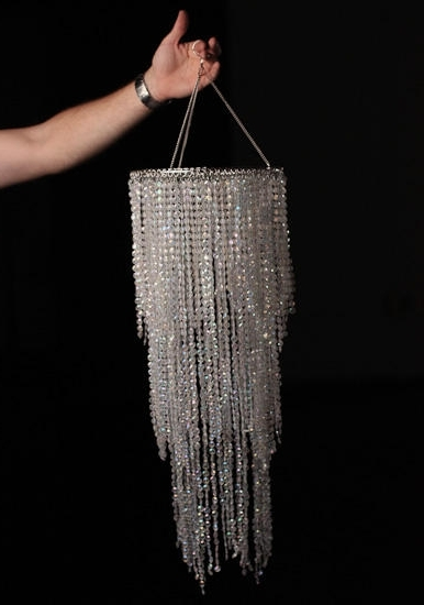 Faux Crystal Chandelier Centerpieces With Well Known Fancy Party Chandelier Decoration Simply Elegant Faux Crystal (View 8 of 10)