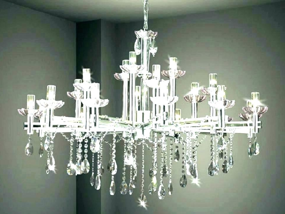 Faux Crystal Chandelier Wedding Bead Strands In 2018 Faux Crystal Chandelier Fake Crystal Chandeliers Fake Crystal (View 4 of 10)