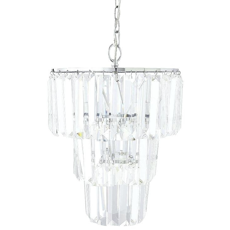 Faux Crystal Chandeliers – Stgrupp Intended For Widely Used Faux Crystal Chandelier Wedding Bead Strands (View 5 of 10)