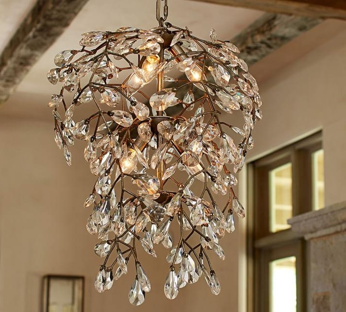 Favorite Branch Crystal Chandelier Regarding Clear Crystal Round Chandelier (View 9 of 10)