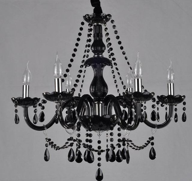 Favorite Contemporary Black Chandelier Intended For Home Design : Breathtaking Modern Black Chandelier Cheap The Unique (View 8 of 10)