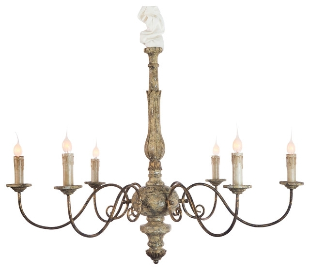 Favorite Contemporary French Country Chandelier Intended For Brilliant Inside French Country Chandeliers (View 2 of 10)