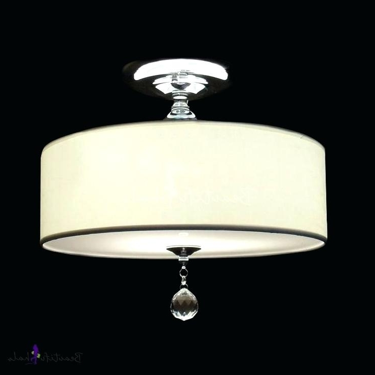 Favorite Crystal Drum Shade Chandelier – Pickasound (View 9 of 10)