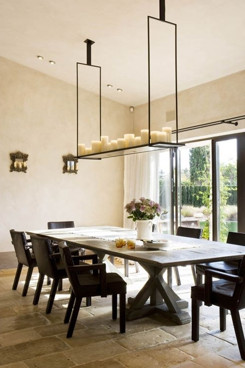 Favorite Elegant Candle Chandeliers For The Dining Room (View 7 of 10)