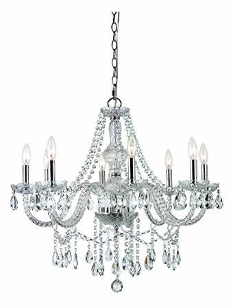 Favorite Globe Crystal Chandelier With Trans Globe Lighting Hu 8 Sl Eight Light Crystal Chandelier (View 4 of 10)
