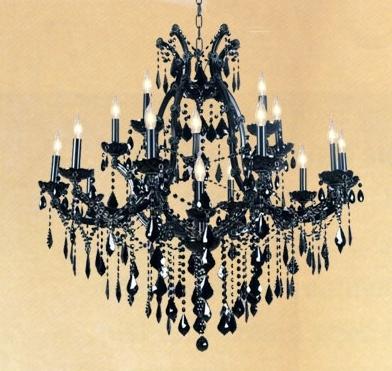 Favorite Large Black Chandelier In Maria Theresa Large Black Chandelier (View 5 of 10)
