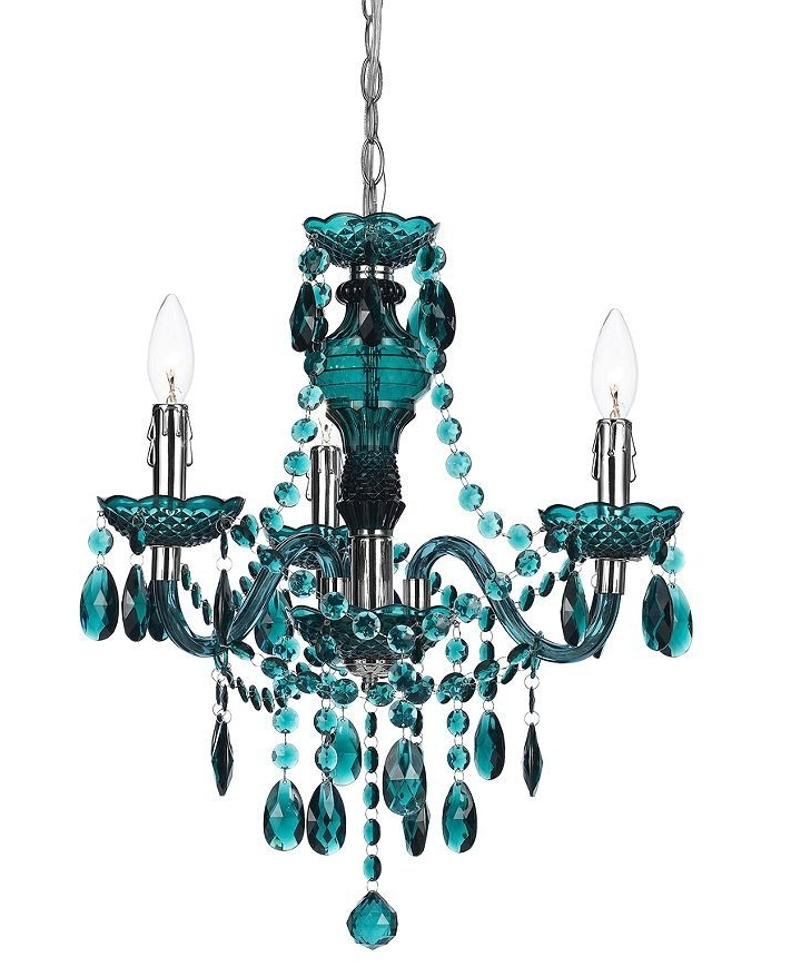 Favorite Turquoise Mini Chandeliers Intended For Angelo:home 3 Light Mini Chandelier (View 4 of 10)